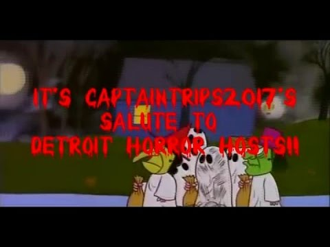a tribute to detroits tv horror hosts youtube