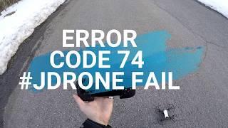 DJI RYZE TELLO Error Code 74 FIX & Camera with Controller Testing Review