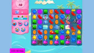 Candy Crush Saga Level in 8 moves NO BOOSTERS Cookie