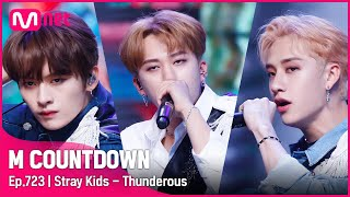 [Stray Kids - Thunderous] KPOP TV Show | #엠카운트다운 EP.723 | Mnet 210902 방송