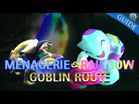 Diablo 3 Menagerist Goblin and Rainbow Goblin Farming Guide Cosmic Wings