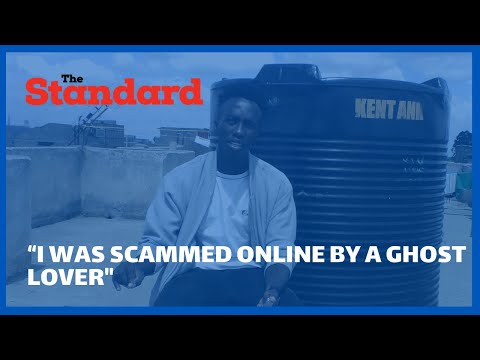 """I was scammed online by a Ghost Lover"" Joseph Kibet a fourth year student at KU recounts"