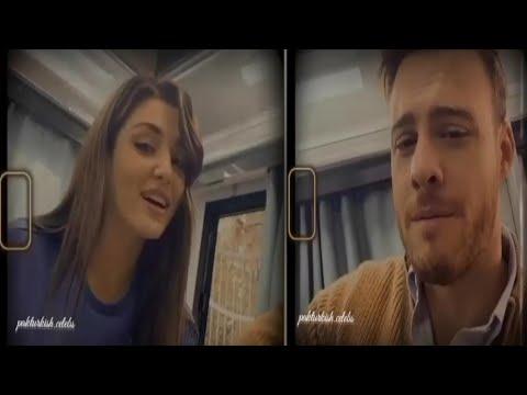 Download Kerem Bursin & Hande Erçel - From The SET TODAY - Live - Sen Çal Kapımı 16. Bölüm - BTS