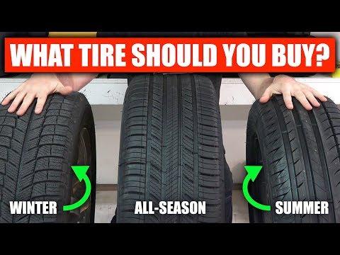 Summer vs Winter vs All Season - What Tires Should You Buy?