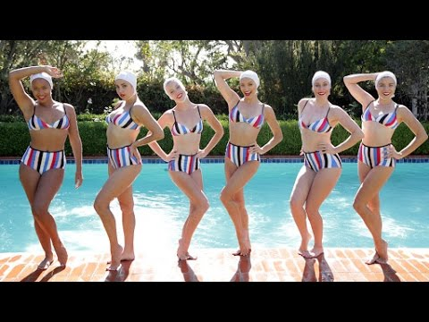 58c9ae0072668 Dive Into the Underwater World of Synchronized Swimming - YouTube