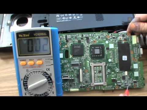 Ноутбук ASUS K50IJ Восстановление звука