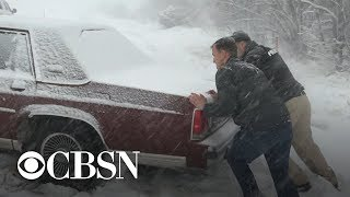 Massive winter storm hitting 200 million Americans