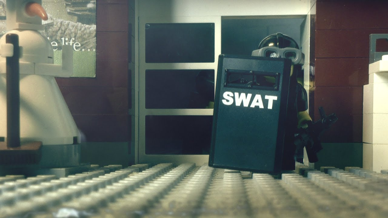 """Download LEGO stopmotion SWAT brickarm action: """"The Wild Crunch 2"""" and YOUR Voice"""