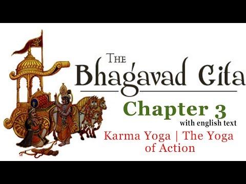 Bhagavad Gita Chapter 3 [Full] | Karma Yoga | The Yoga Of Action | Hinduism Enlightenment