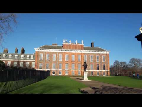 London: Kensington Palace. Palatul Kensington din Londra. Кенсингтонский дворец - Лондон.