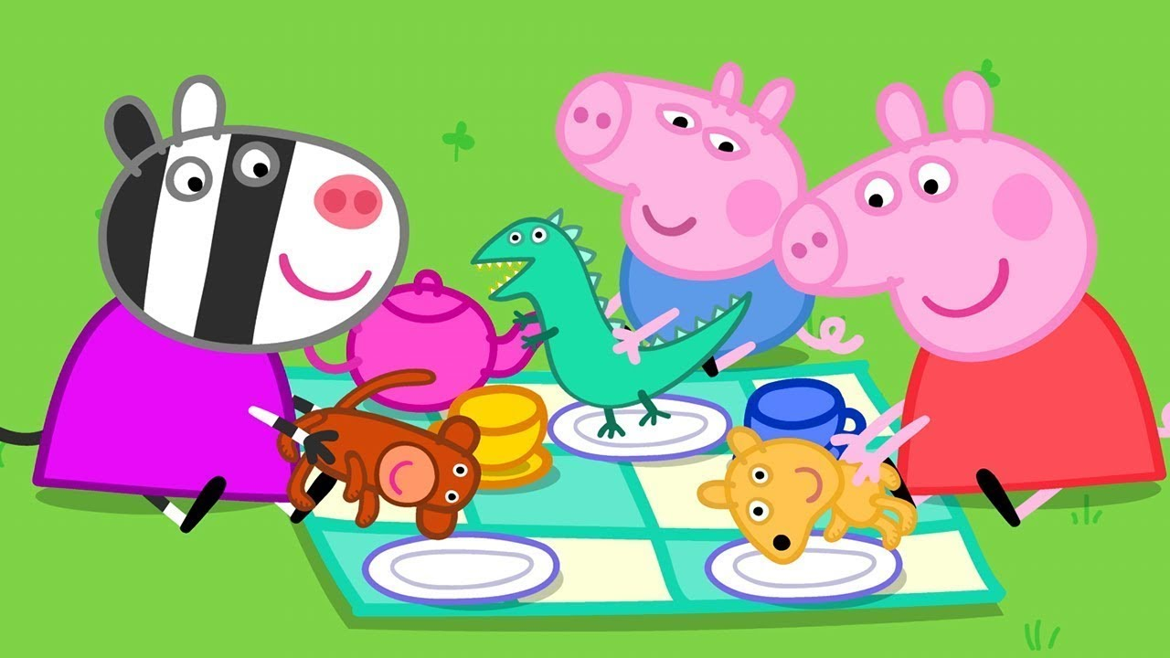 Peppa Pig Français | Peppa Pig Le jour de sortie de Teddy | 1 HEURE | Dessin Animé