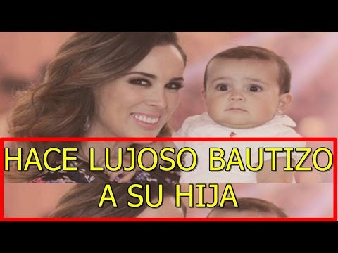 Jacky Bracamontes hace LUJOSO BAUTIZO a SU HIJA RENATA mejor que BODA de Ximena Navarrete