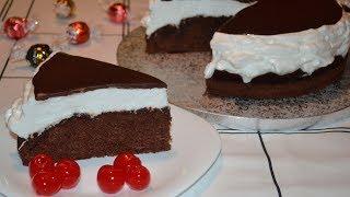 Торт «Улыбка негра». Очень нежный и вкусный торт! Рецепт из СССР!