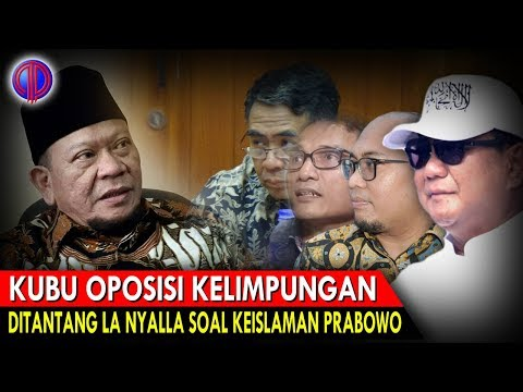 Kubu Op0$isi Kelimpungan, Balas T4nt4n9an La Nyalla Soal Keisl4man Prabowo