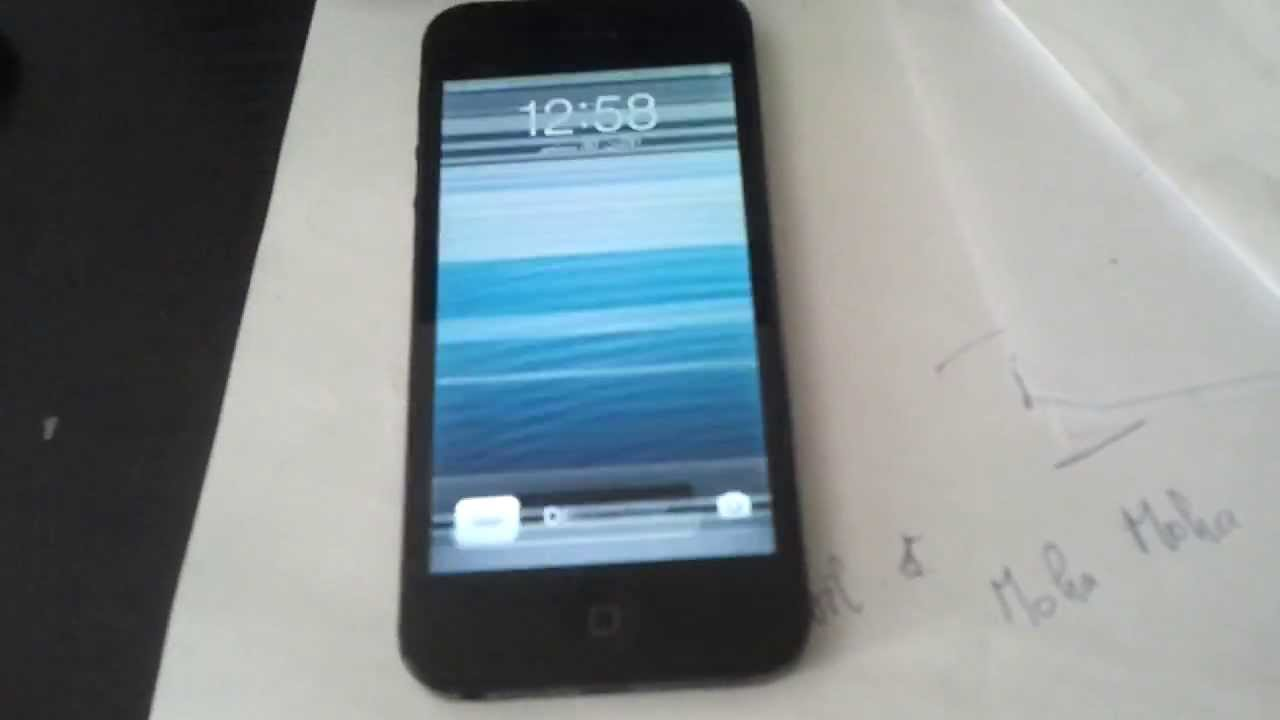 Iphone S Ecran Noir