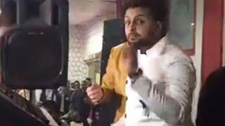 ياخرابي سيكو يعزف  يوم فرحه ويوقع فرقة كريم ناعوس خراب هنا شوفو سيكو بهدل الفرقه 🔥