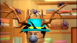 How to get the spider antlers in roblox