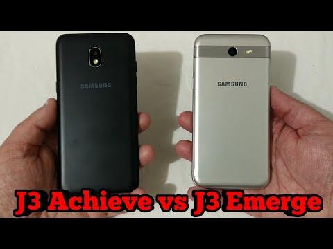 Samsung J3 Achieve vs Samsung J3 Emerge  Is It Worth The Upgrade?