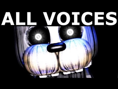 JOLLY 3: Chapter 1 - All Animatronic Voices (FNAF Horror Game 2017)