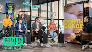 "Bo Burnham And The Cast Of ""Eighth Grade"" Discuss Their New Film (With Our Pre-Show, The BUILD Up)"