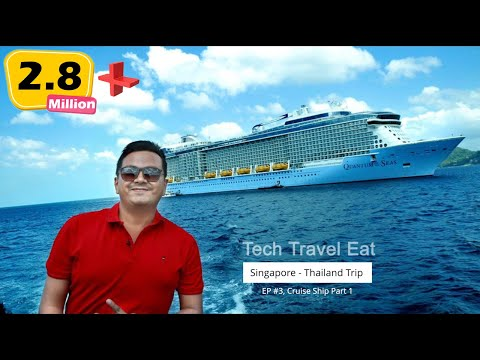 Boarding My FIRST CRUISE Ship (കപ്പൽ യാത്ര) - Royal Caribbean Quantum Of The Seas EP #03