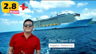 Boarding my FIRST CRUISE Ship (കപ്പൽ യാത്ര) - Royal Caribbean Quantum of the Seas EP #03