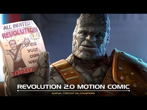 Revolution 2.0 Motion Comic   Marvel Contest of Champions