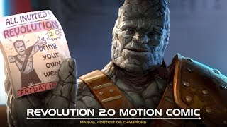 Revolution 2.0 Motion Comic | Marvel Contest of Champions