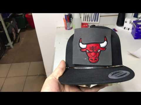 Машинная вышивка 3D  на кепках, бейсболках. как правильно вышивать на бейсболке