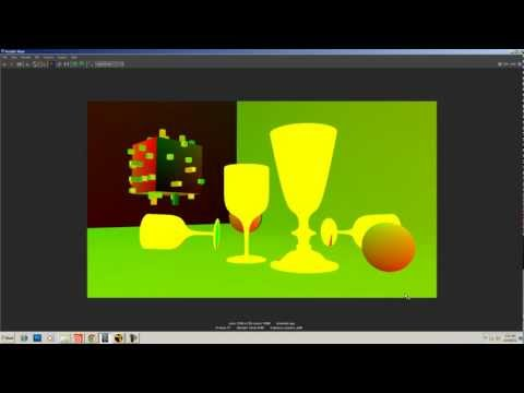 Maya - Mental Ray - Rendering A UV Pass