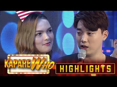 Stephen catches Ryan on another date | It's Showtime KapareWho from YouTube · Duration:  3 minutes 18 seconds