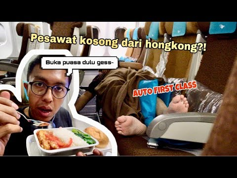 HONGKONG TO JAKARTA | GARUDA INDONESIA A330-200 ECONOMY CLASS EXPERIENCE