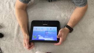 Unboxing a Android tablet that plays dvds