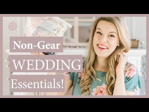 Non Gear Wedding Essentials For Photographers