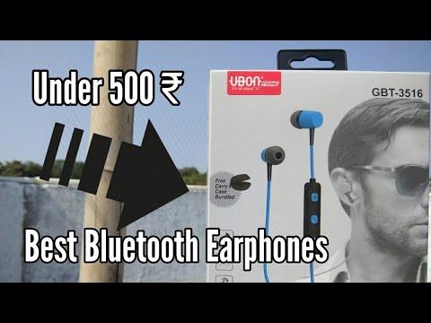 Best Bluetooth Earphones Under 500 Youtube