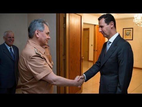 وزير الدفاع الروسي يزور دمشق ويسلم الأسد رسالة من فلاديمير بوتين…  - نشر قبل 3 ساعة