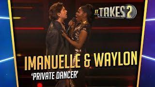 It Takes 2: Imanuelle Grives & Waylon zingen Private Dancer