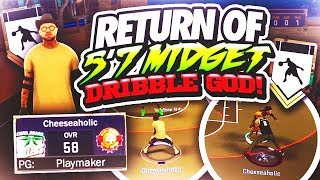 THE RETURN OF THE 5'7 MIDGET DRIBBLE GOD 😱 BREAKING GROWN MEN ANKLES AT THE STAGE😂 (MUST WATCH)