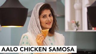 Aalo Chicken Samosa | Iftari | Ramzan | Sahiba | CreatorsOne | Lifestyle With Sahiba