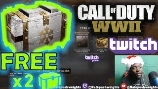 How To Get FREE COD WW2 Supply Drops Every Day   Call Of Duty World War 2 PS4/XBOX Twitch Prime Loot
