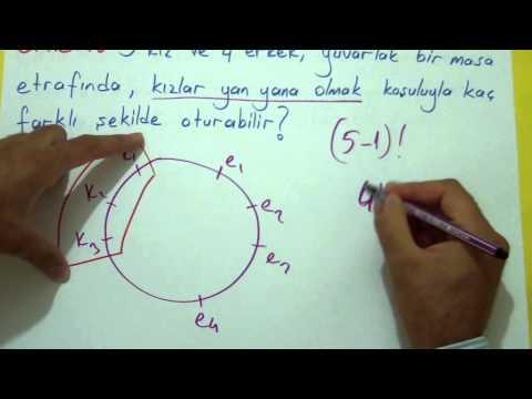 Permütasyon 2 Şenol Hoca Matematik