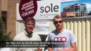 Part 8:  OGO Car Share Co Op Vehicles - One Block from SOLE