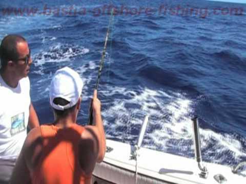 Pêche au gros en Corse, 28 08 2011 avec le Bastia Offshore Fishing Club