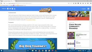 updating TOURNAMENTS CLASH ROYALE-#1 NEWS-new update CLASH ROYALE!