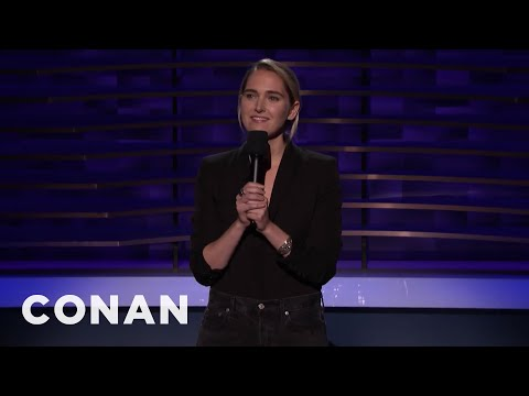 Jena Friedman: Women Don't Watch True Crime, We Study It - CONAN On TBS
