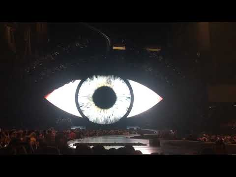 Katy Perry - Pre-Show Eye (Witness: The Tour - Brisbane Entertainment Centre - 10/8/18)