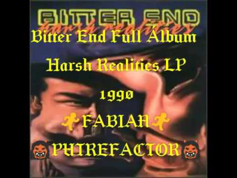 Bitter End - Harsh Realities Full Álbum (LP/1990)