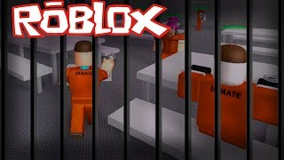 ROBLOX - Escaping from prison!!!