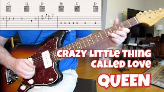 Crazy Little Thing Called Love (guitar cover) видео
