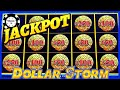 ⚡️HIGH LIMIT Dollar Storm Caribbean Gold HANDPAY JACKPOT ...
